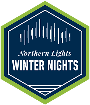 Northern Lights and Winter Nights by Train